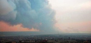 Иркутская область горит