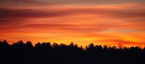 Закаты и рассветы из окна