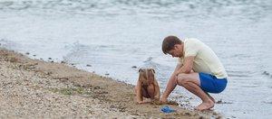 Открытие пляжа Якоби