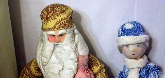Старинные новогодние игрушки в домах иркутян