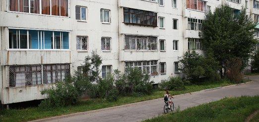 Микрорайоны Синюшина гора и маршала Конева