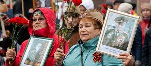 Праздничное шествие в честь Дня Великой Победы