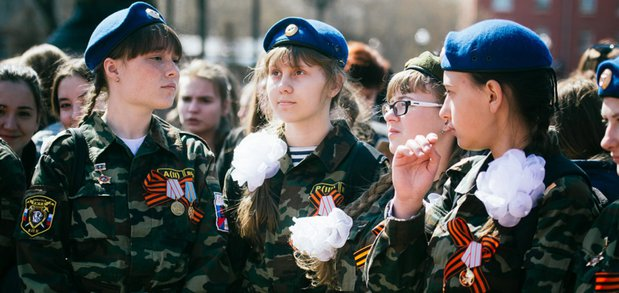 Открытие всероссийской акции прошло в сквере имени Кирова.