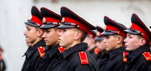 Присяга иркутских кадетов