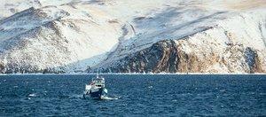 Малое Море: прозрачный лед и белые холмы