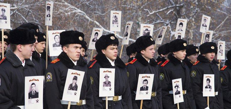Акция прошла в Иркутске 15 февраля.
