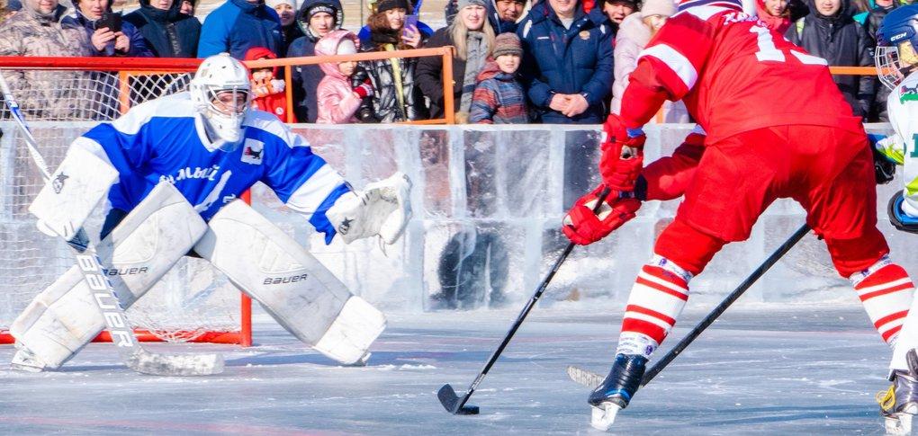 В игре приняли участие Вячеслав Фетисов и Игорь Кобзев.
