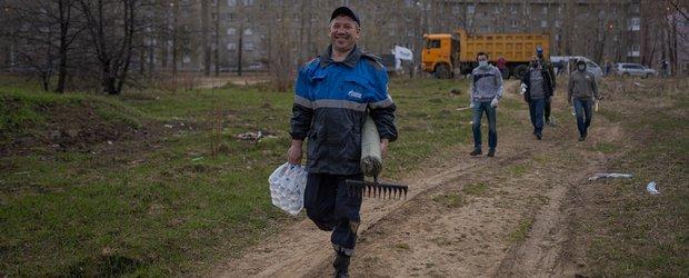 В Иркутске прошел общегородской субботник