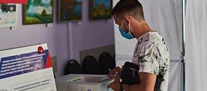 Ручка в подарок: как проходило голосование в Иркутске