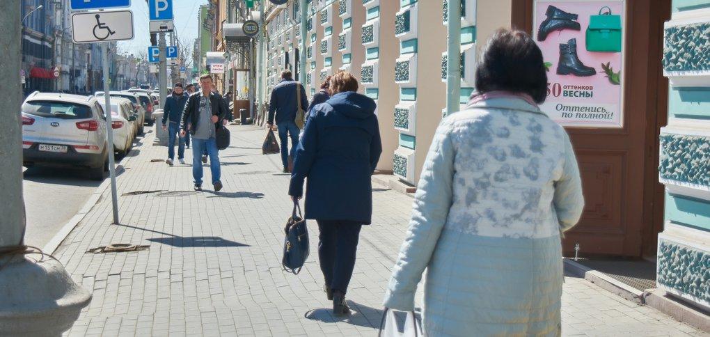 16 апреля индекс самоизоляции в городе упал до 2,3 балла.
