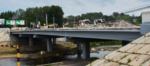 Как продвигается ремонт Ушаковского моста