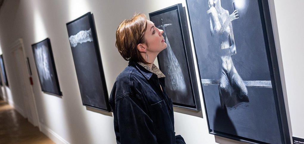 Выставка Бобура Исмоилова.