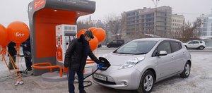 Компания En+ Group открыла первые электрозаправочные станции в Иркутске и Листвянке