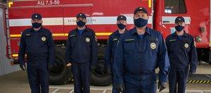Открытие пожарного депо в Пивоварихе