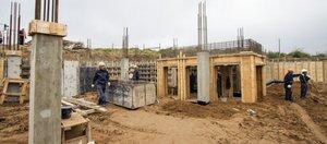 Строительство детского сада в «Хрустальном парке»