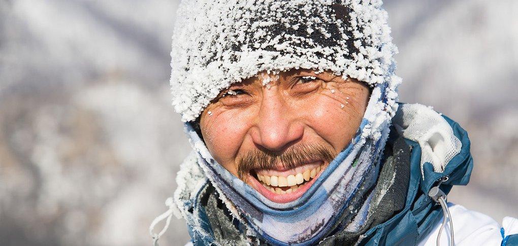 Участники преодолели по льду 205 километров.