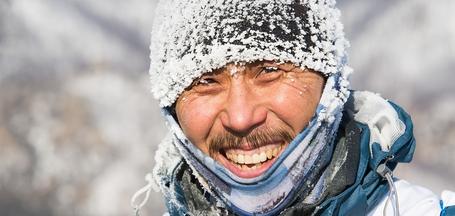 Экстремальная гонка «Ледовый шторм»: коньки, велосипеды и финские сани