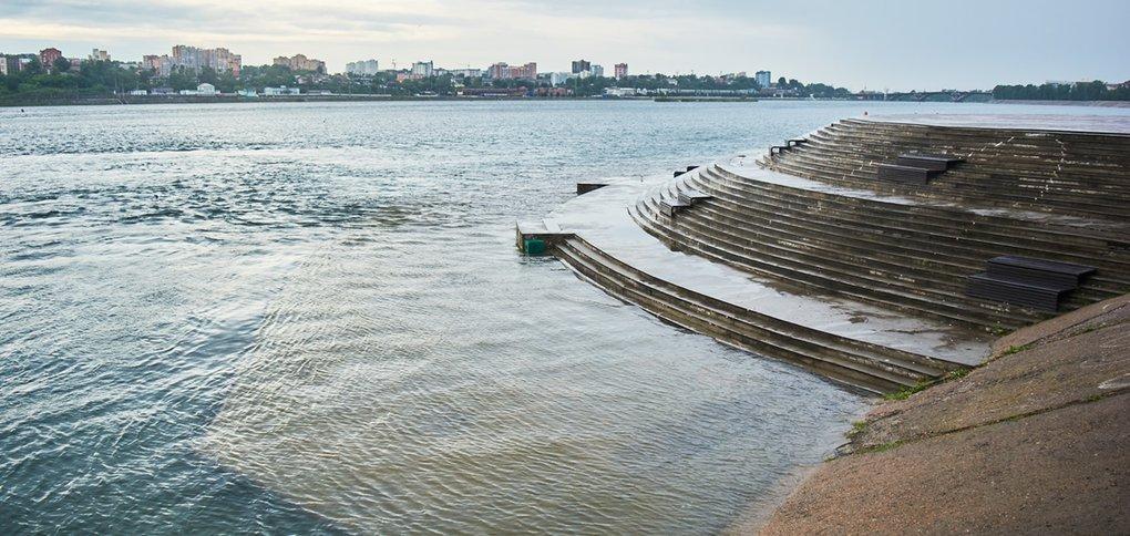 Сброс воды на ГЭС увеличили до 3100 кубометров в секунду.