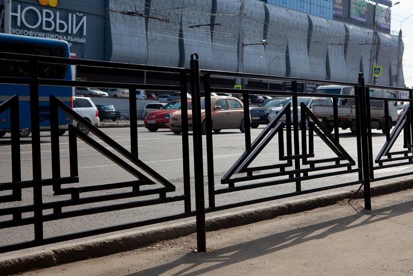 Поддерживаете ли вы идею перекрасить тротуарные ограждения в черный цвет?