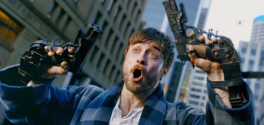 «Гарри Поттер» и руки-пистолеты.