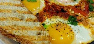 Ева Гриль попробовала завтраки в кафе «Эгги»