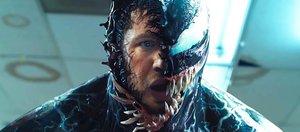 Фильм «Веном»: зубастые слизняки пытаются шутить