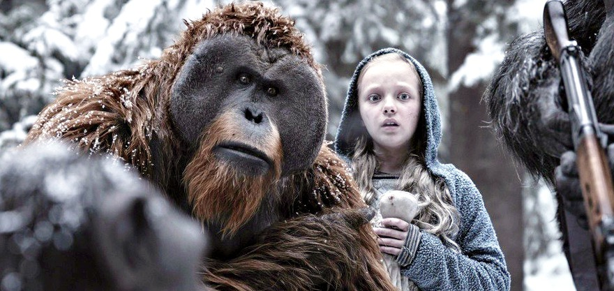 "Рецензия на фильм ""Планета обезьян: Война"""