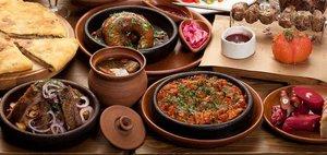 Приготовьте 10 блюд грузинской кухни
