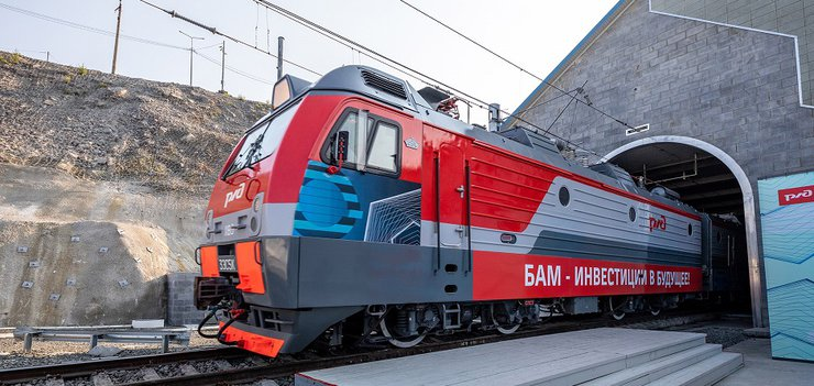 Идут работы по увеличению пропускной способности железных дорог.
