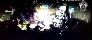 Видео взрыва в «Гравитации»