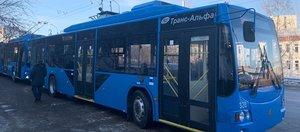 Запуск первого троллейбусного маршрута по Академическому мосту: видеотрансляция