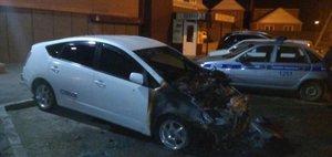 Поджог Toyota Prius в Иркутске