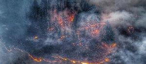 Иркутская область в огне: видео