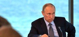 Владимир Путин провел совещание на Байкале