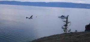 Падение самолета у побережья Ольхона