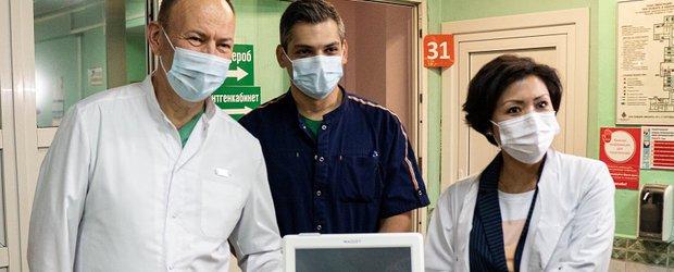 Детской областной больнице подарили новые аппараты ИВЛ