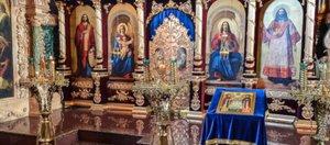 Пасхальная служба из Храма Казанской Иконы Божией Матери: видео