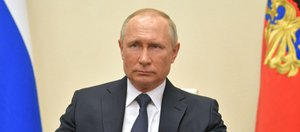Обращение Владимира Путина к россиянам из-за коронавируса